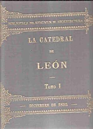CATEDRAL DE LEON, LA (EDICION FACSIMIL) (2 TOMOS): RIOS Y SERRANO, DEMETRIO DE LOS