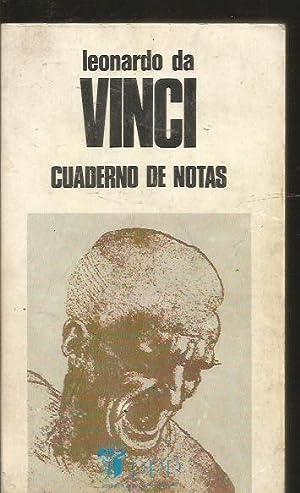 CUADERNO DE NOTAS: VINCI, LEONARDO DA