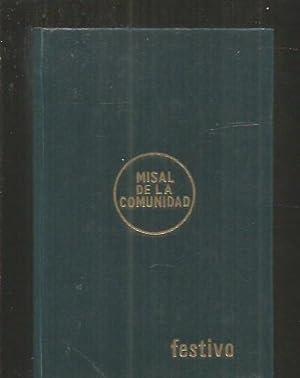 MISAL DE LA COMUNIDAD: FLORISTAN, CASIANO /