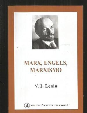 MARX, ENGELS, MARXISMO: LENIN, V. I.