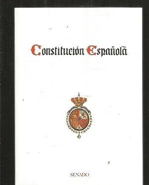CONSTITUCION ESPAÑOLA: VARIOS