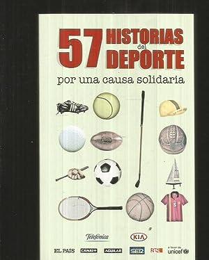 57 HISTORIAS DEL DEPORTE POR UNA CAUSA: VARIOS
