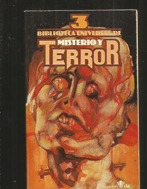 BIBLIOTECA UNIVERSAL DE MISTERIO Y TERROR 3: VALVERDE, JOSE ANTONIO