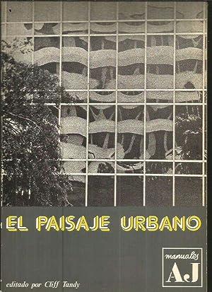 MANUAL DE PAISAJE URBANO: TANDY, CLIFF (EDICION)