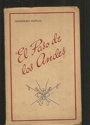PASO DE LOS ANDES - EL: ESPEJO, GERONIMO