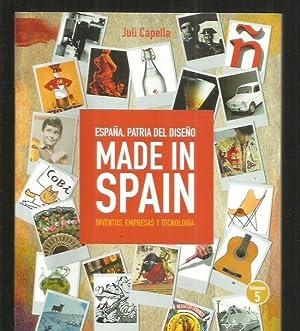MADE IN SPAIN. ESPAÑA, PATRIA DEL DISEÑO.: CAPELLA, JULI