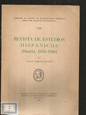 HISTORIA DEL COLEGIO IMPERIAL DE MADRID. TOMO: SIMON DIAZ, JOSE