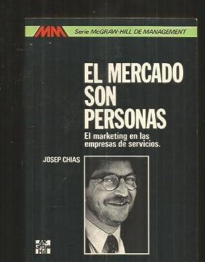 MERCADO SON PERSONAS - EL. EL MARKETING: CHIAS, JOSEP