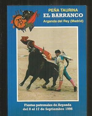 PEÑA TAURINA EL BARRANCO. ARGANDA DEL REY: PEÑA TAURINA EL