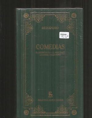 COMEDIAS: EL MISANTROPO / EL ARBITRAJE /: MENANDRO