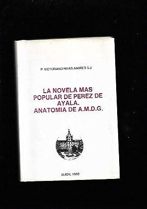NOVELA MAS POPULAR DE PEREZ DE AYALA: RIVAS ANDRES, VICTORIANO