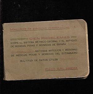 CIEN PROBLEMAS SOBRE EL SISTEMA METRICO DECIMAL: VALDIVIA SISAY, ANDRES