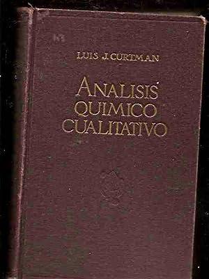 ANALISIS QUIMICO CUALITATIVO: CURTMAN, LUIS J.