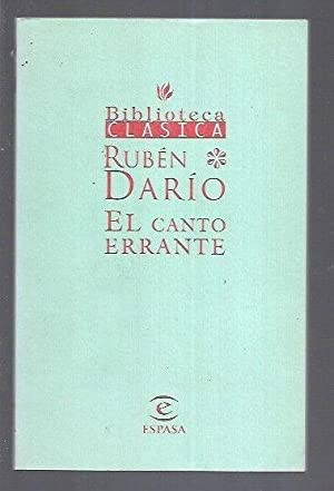CANTO ERRANTE - EL: DARIO, RUBEN