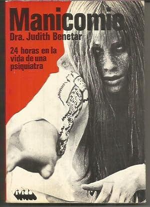 MANICOMIO: BENETAR, DRA. JUDITH