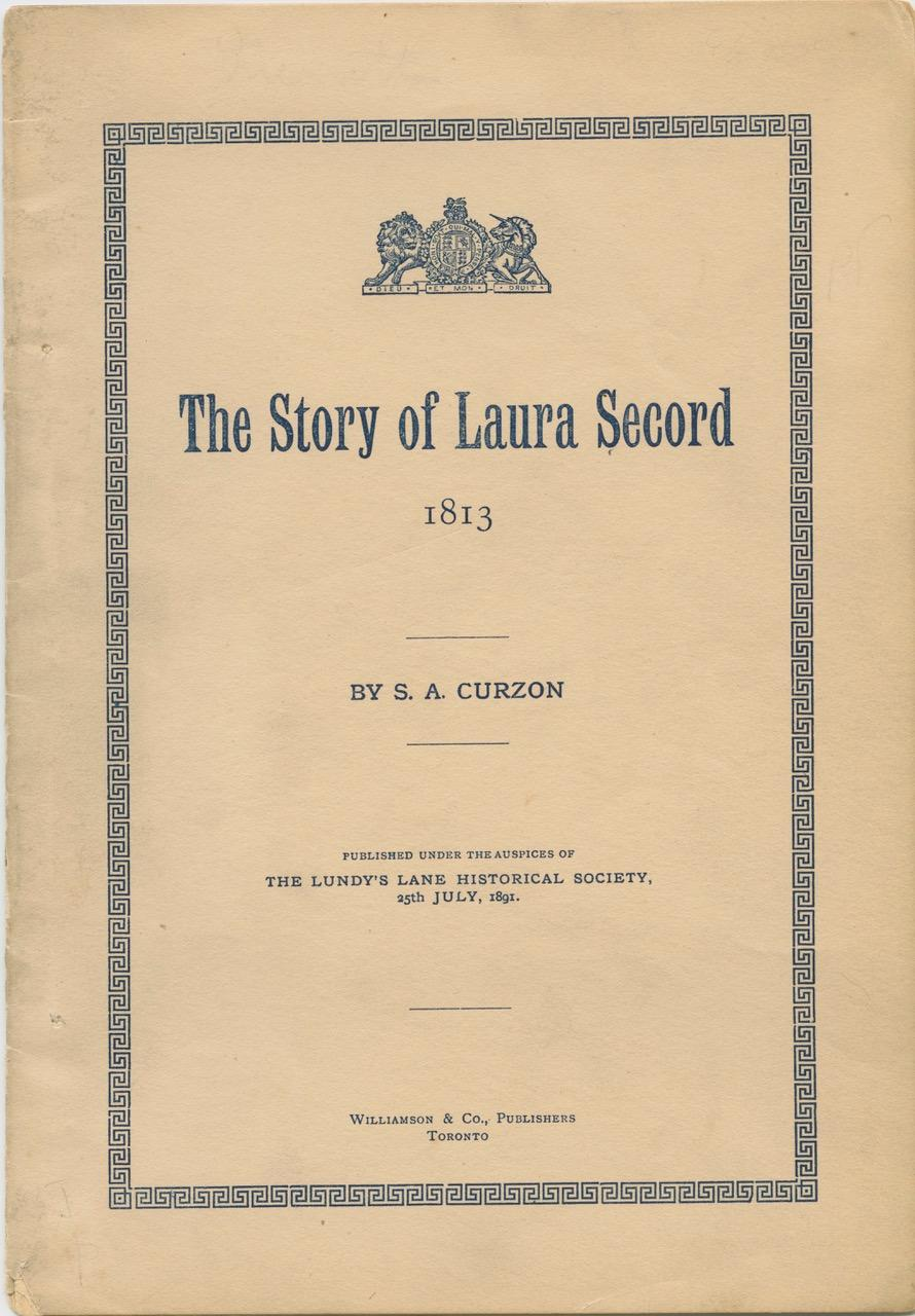 the life and contributions of laura secord Read this essay on laura secord come browse our large digital warehouse of free sample essays traditional male socialization provoked the killing and laura's attitude and insecurity towards life made her an page 1 the life of laura ingalls wilder laura ingalls wrote the way she did because she.