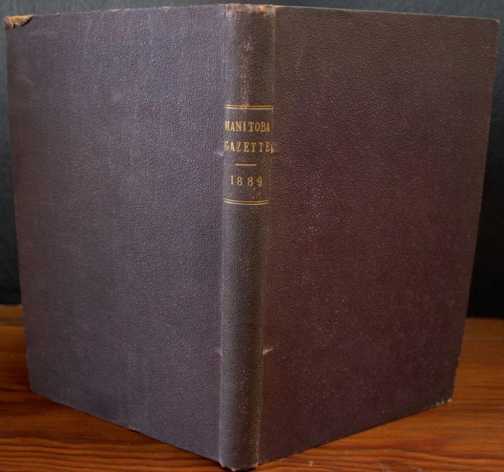 The Manitoba gazette. (Journal, magazine, 1871) [WorldCat.org]