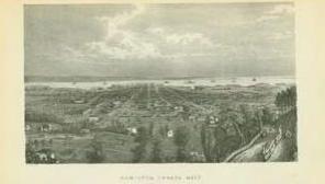 "Lettersheet B&W ""Hamilton Canada West"" [Charles Magnus]: MAGNUS, Charles [1826"