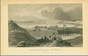 "Lettersheet B&W ""Kingston"" [Charles Magnus]: MAGNUS, Charles [1826"