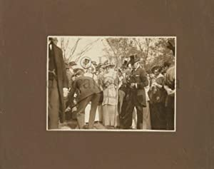 Photo of Sir William Mulock and others: MULOCK, Sir William