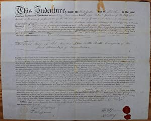 Indenture for the sale of land in: GOWAN, Ogle Robert