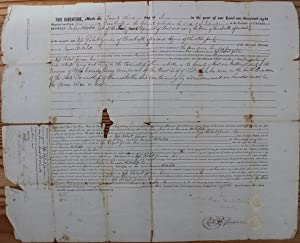 Indenture for the sale of land in: MITCHELL, James &
