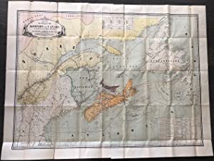 Map No. 1 (Eastern-Section) Dominion of Canada Telegraph & Signal Service. Sir Hector Langevin K....