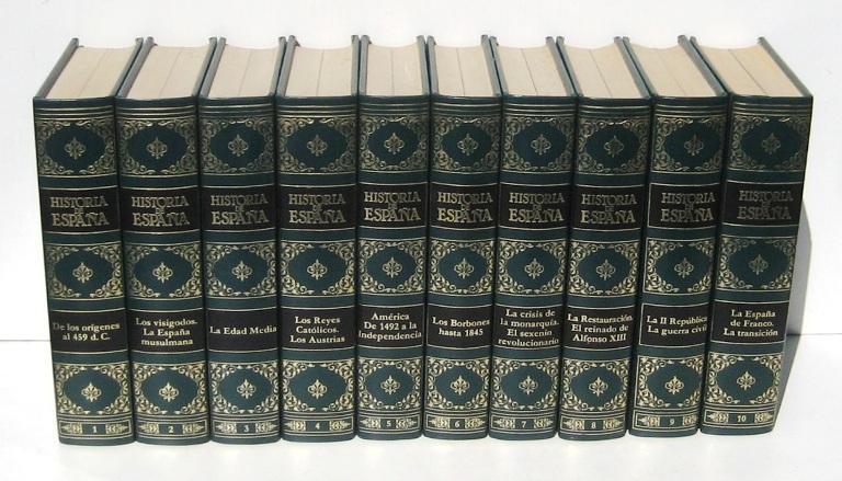 HISTORIA DE ESPAÑA (10 Vols.) - Varios Autores