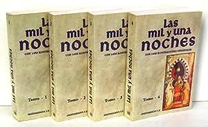 LAS MIL Y UNA NOCHES (4 vols.): ANONIMO