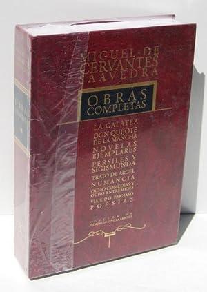 OBRAS COMPLETAS: La Galatea - Don Quijote: CERVANTES SAAVEDRA, MIGUEL