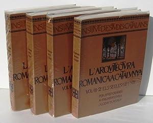 L'ARQUITECTURA ROMANICA A CATALUNYA (3 toms en 4 vols) I. Precedents: L'Arquitectura ...
