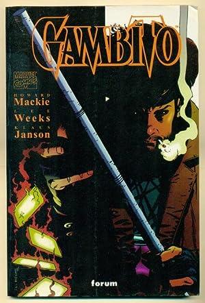 GAMBITO: MACKIE, HOWARD (Guion) - LEE WEEKS - KLAUS JANSON (Ilustracion)