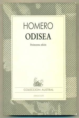 ODISEA (LA): HOMERO