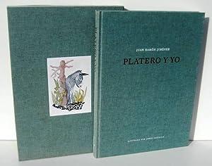 PLATERO Y YO. Elegia andaluza: JIMENEZ, JUAN RAMON - JORGE CASTILLO (ilustracion)