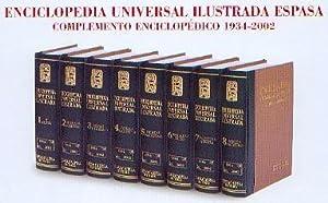Complemento Enciclopédico 1934-2002 (2003). Enciclopedia Universal Ilustrada ...