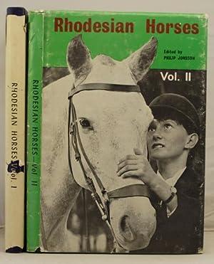 Rhosesian Horses Vols 1 & 2: Jonsson, Philip (editor)