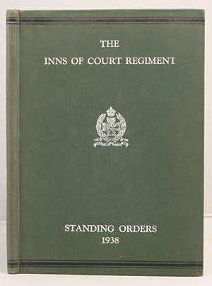 The Inns of Court Regiment; Standing Orders 1938