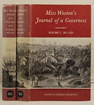 Miss Weeton's Journal of a Governess. Volume