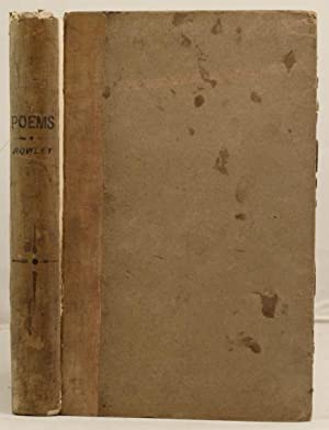 Poems supposed to have been written at Bristol in the Fifteenth Century: Rowley, Thomas and others
