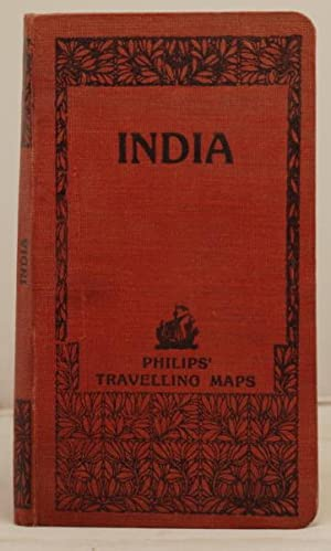Philips' travelling Maps. India