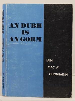 An Dubh Is An Gorm: Mac A' Ghobhainn