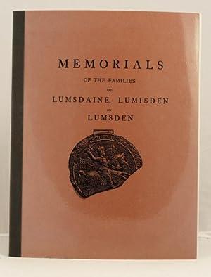 Memorials of the families of Lumsdaine, Lumsden or Lumsden: Lumsden H. W.