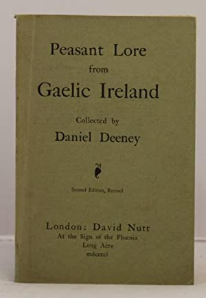 Peasant Lore from Gaelic Ireland.: Deeney Daniel
