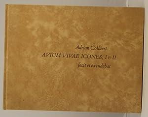 Avium Vivae Icones, 1 & 11, in: Collaert Adrian (edited