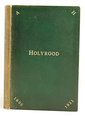 Official Guide to the Abbey-Church, Palace, and environs of Holyroodhouse with a historical sketch....