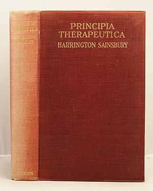 Principia Therapeutica: Sainsbury, Harrington