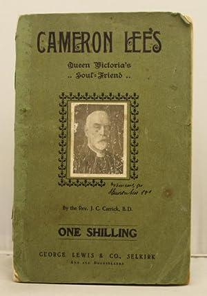 Cameron Lees Queen Victoria's Soul-Friend: Carrick, J. C.
