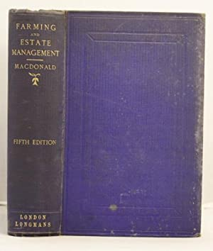 Hints on Farming and Estate Managememt: Macdonald, Duncan George Forbes