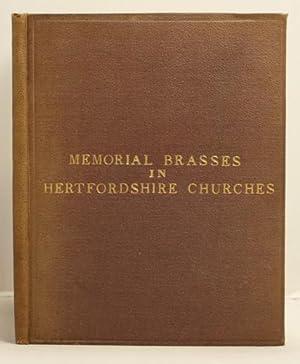 Memorial Brasses in Hertfordshire Churches: Andrews, William Frampton
