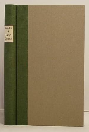 Elements of Galic Grammar. In four parts, etc: Stewart, Alexander